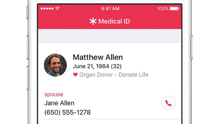 Apple incita a los usuario de iPhone a donar órganos