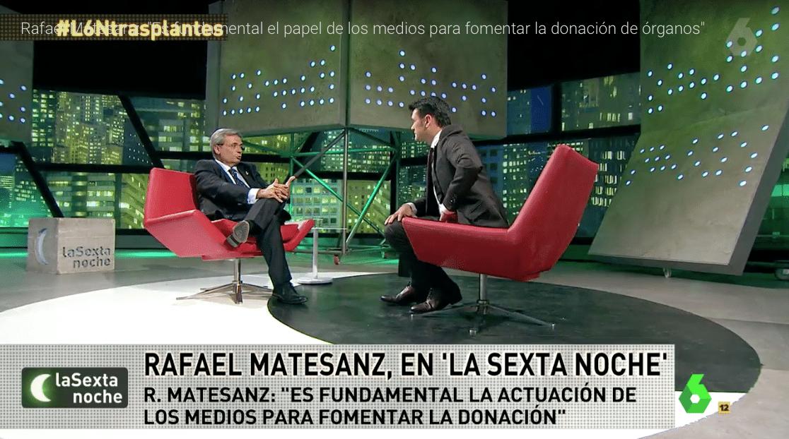 Rafael Matesanz: Es fundamental el papel de los medios para fomentar la donación de órganos
