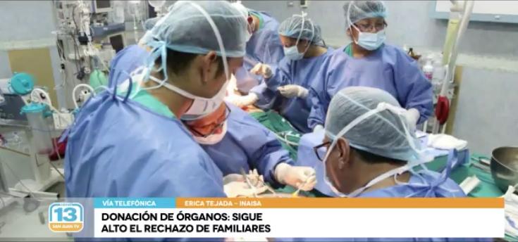 Donación de órganos: Sigue alto el rechazo de los familiares