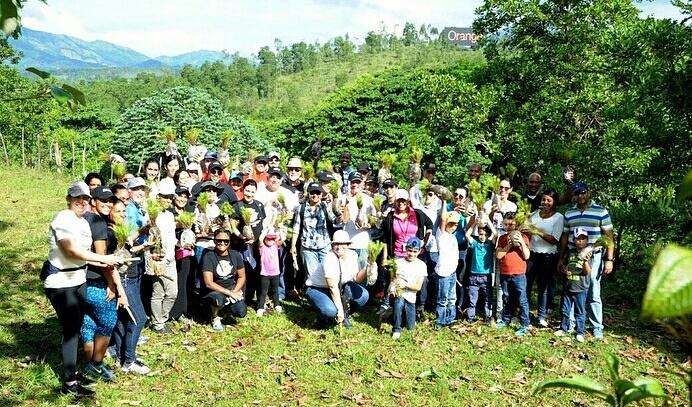 Jornada de Resforestación por el Día Mundial del Donante