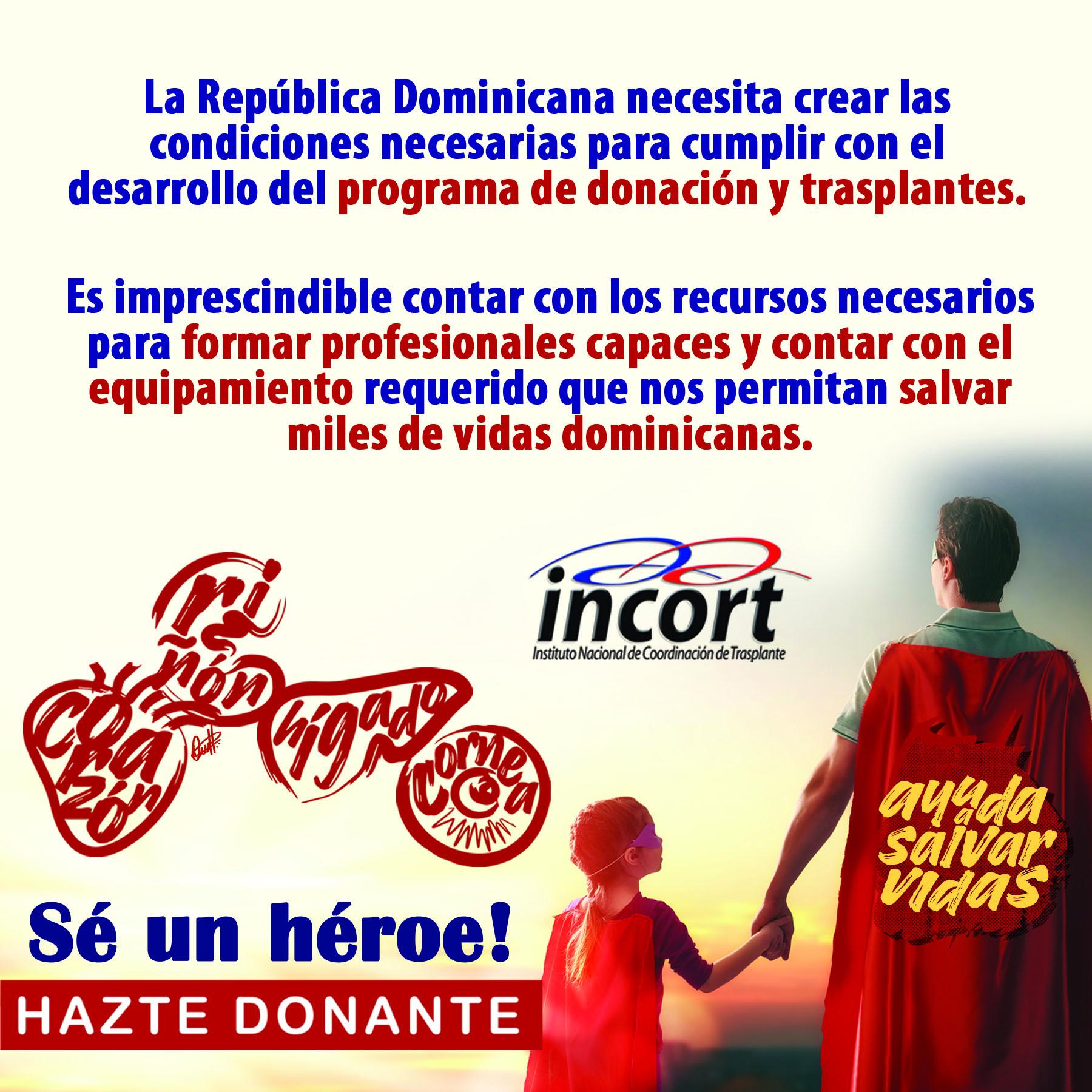 Instituto de Coordinación y Trasplantes INCORT lamenta situación de Andy Herrera