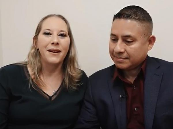 Una verdadera prueba de amor: César le regaló a Mónica por su 23 aniversario de boda una donación que salvó su vida