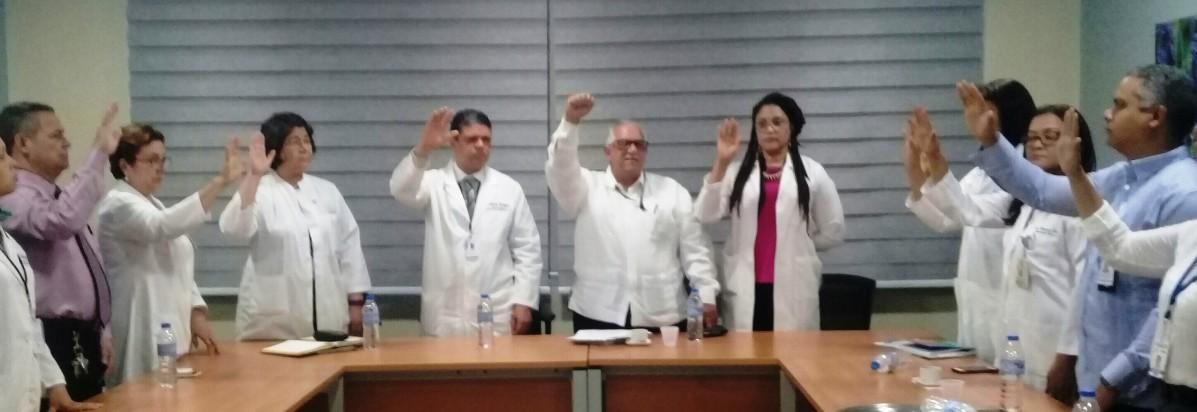 INCORT juramenta Comité de Trasplante del Hospital Cabral y Báez