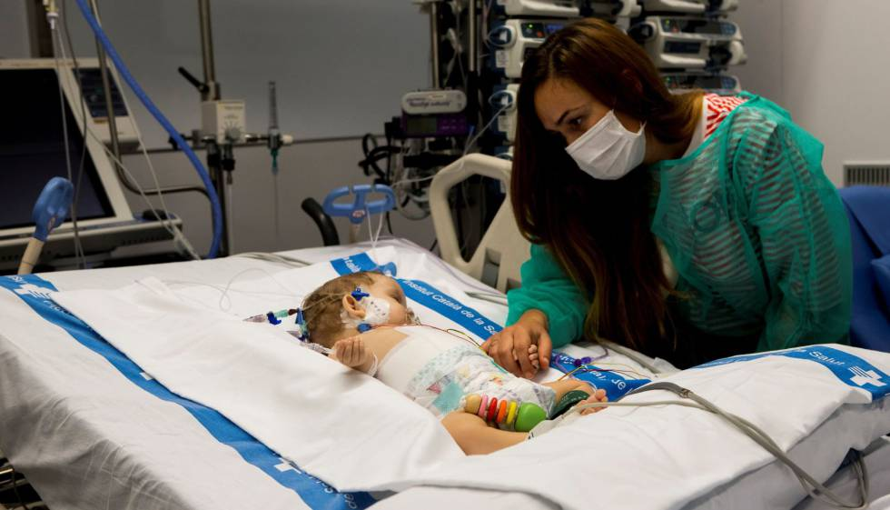 Dos niñas trasplantadas con un solo hígado de un menor