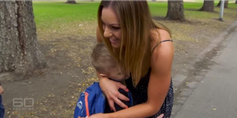 El emotivo momento en que una madre conoce al niño que recibió los órganos de su hijo