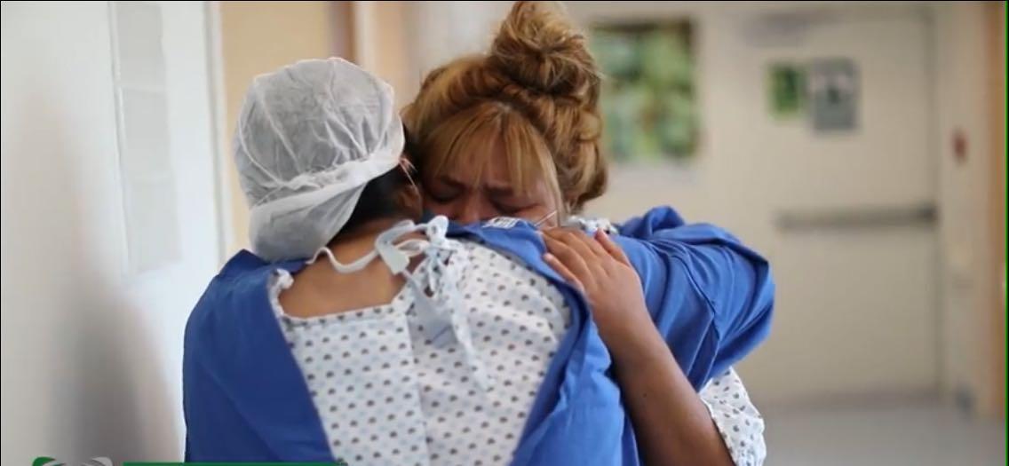 Donó un riñón a su hermana y le salvó la vida