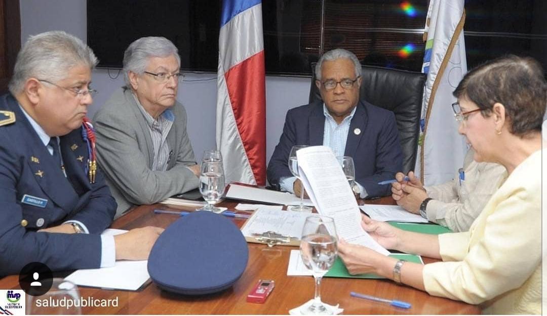 El ministro de Salud se reunió hoy con el Instituto Nacional de Coordinación de Trasplante (INCORT)
