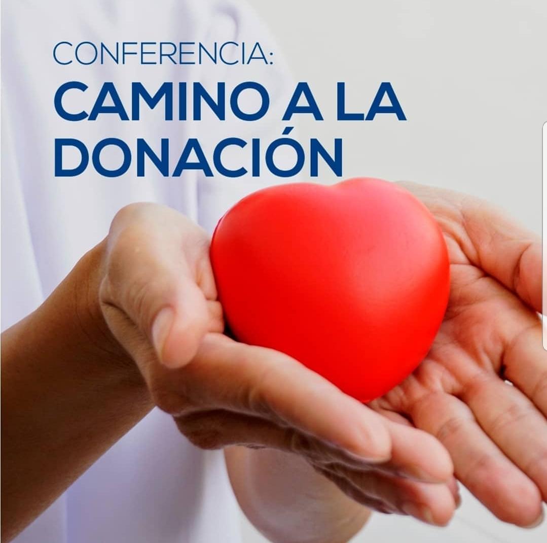 Conferencia camino a la donación