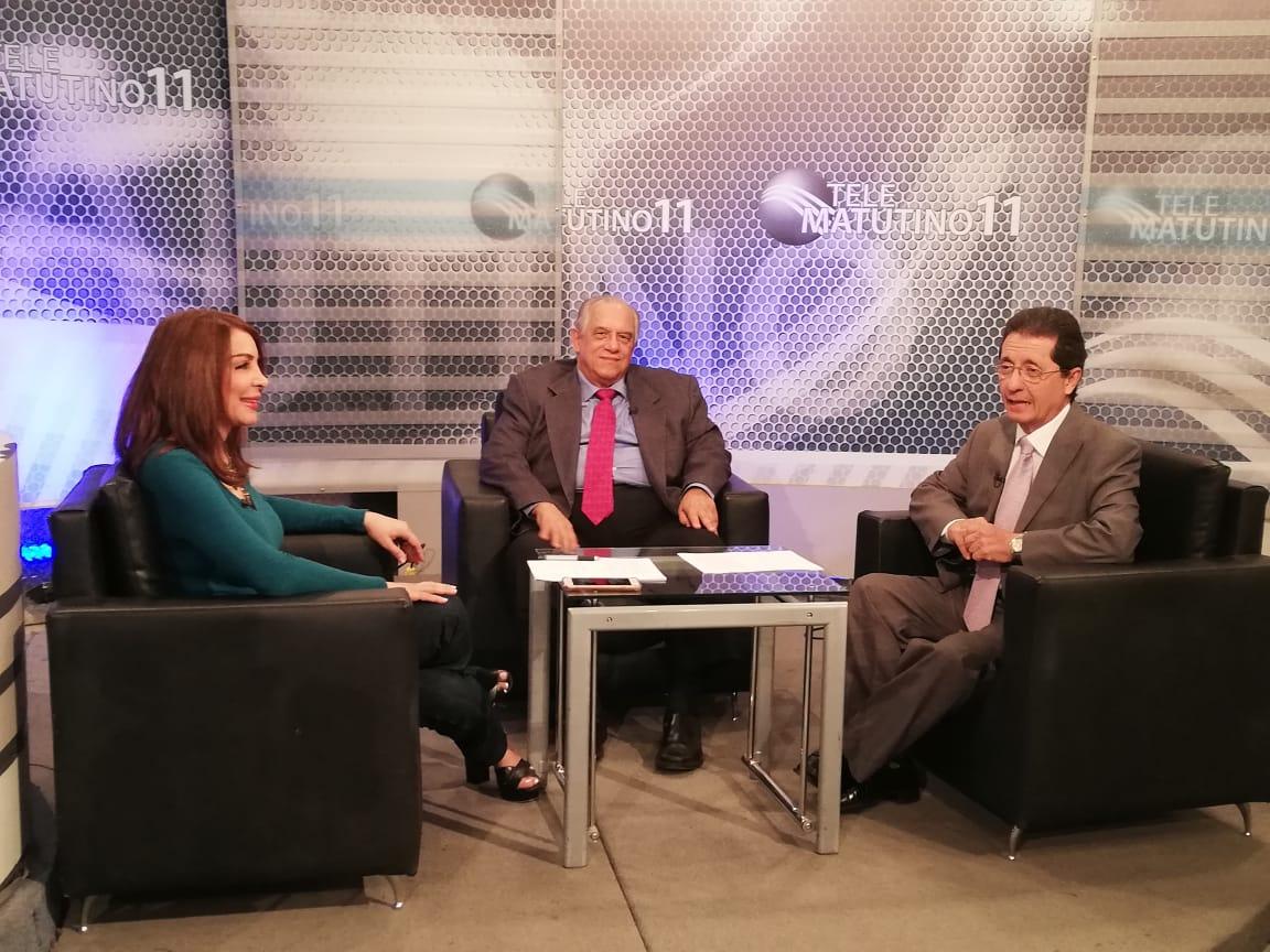 Entrevista de TV con el Director del INCORT en Telematutino 11