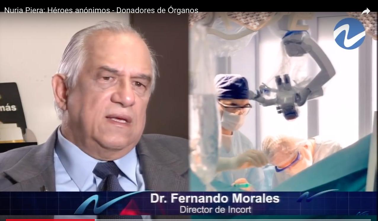 Nuria Piera: Héroes anónimos – Donadores de Órganos – INCORT