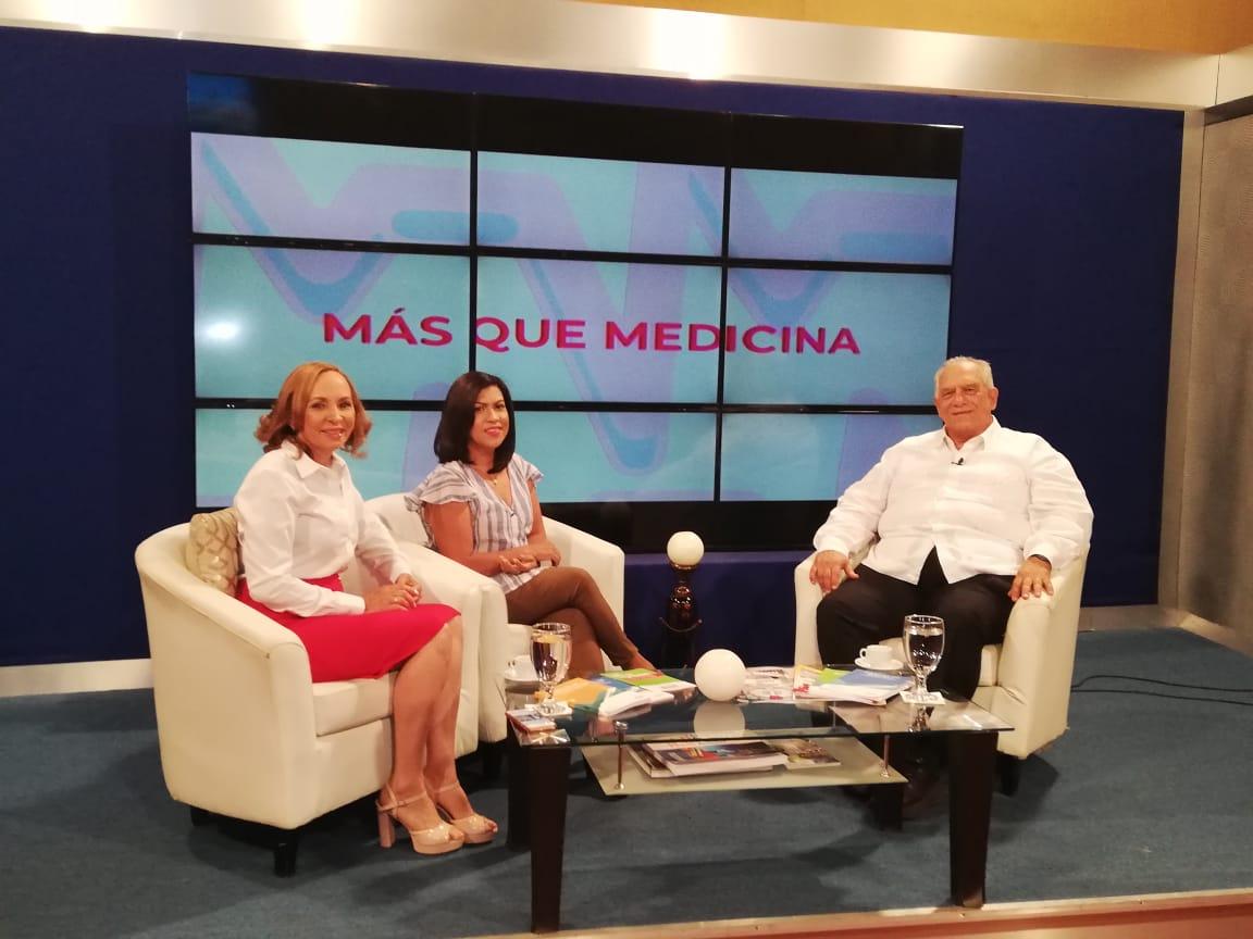 El Dr. Fernando Morales Billini, director del INCORT participa en el programa 2×3 en Salud