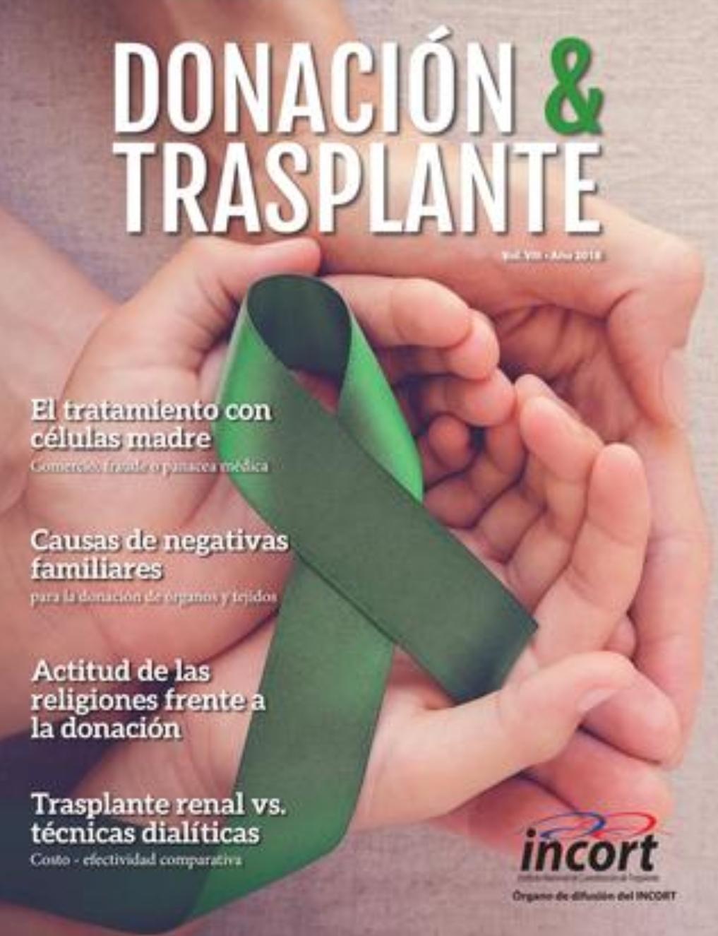 """La revista """"Donación y Trasplante"""""""