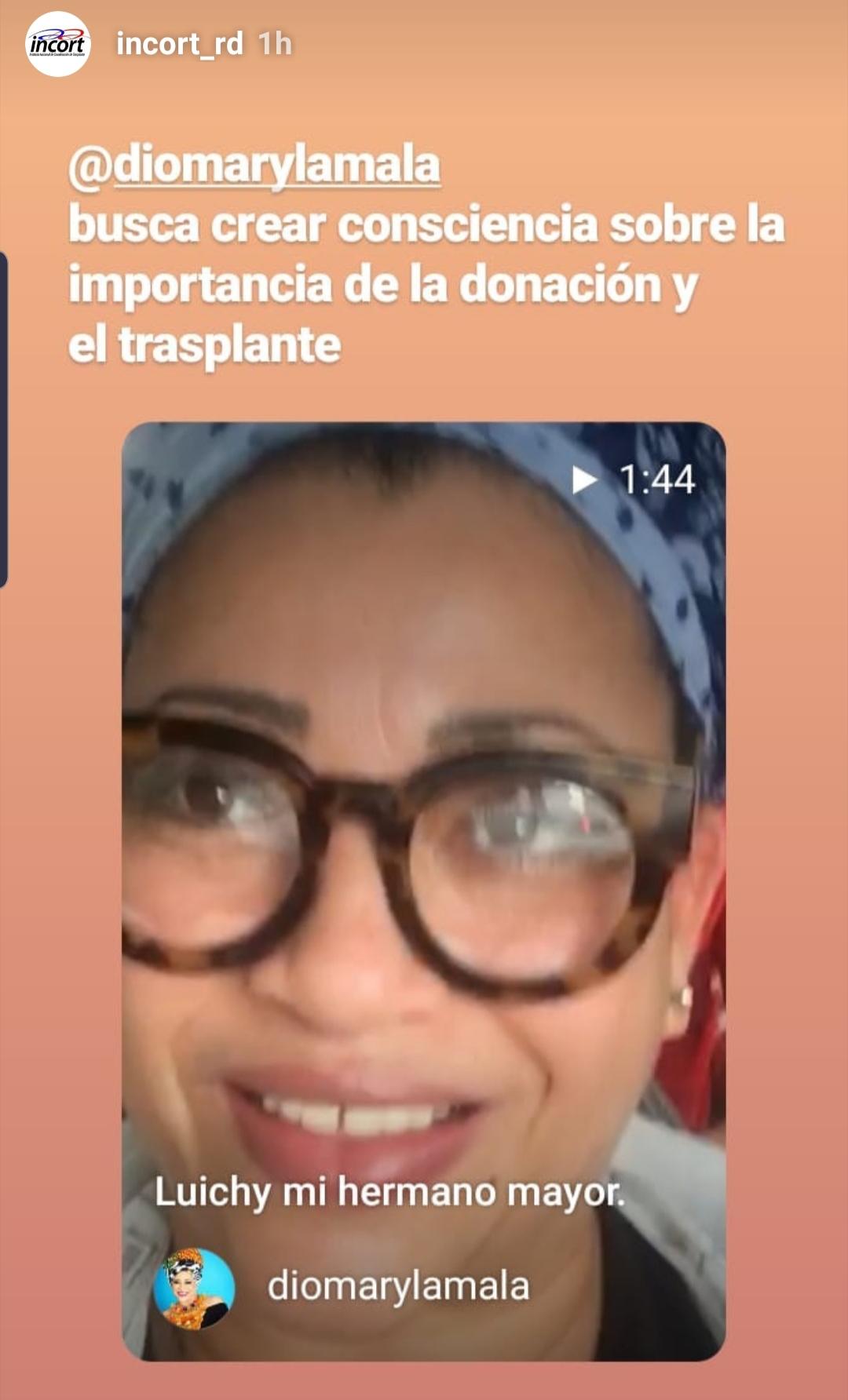 Diomary La Mala busca crear conciencia sobre la importancia de la donación y trasplante de órganos