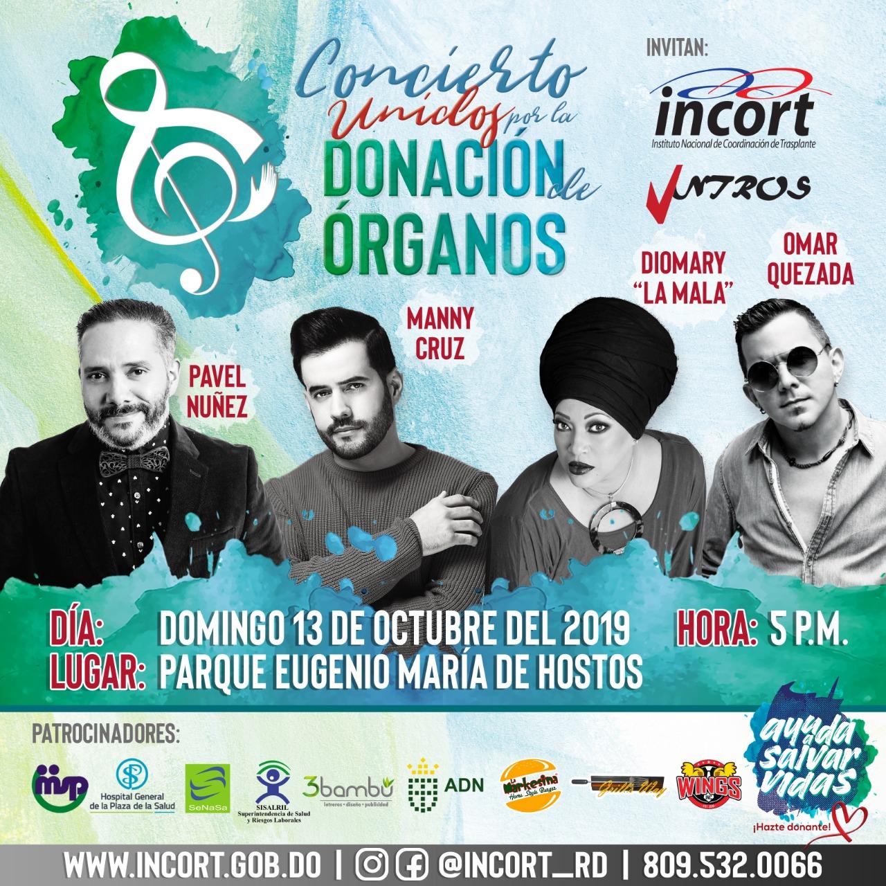 Con un gran concierto RD conmemora el Día Mundial del Donante de Órganos