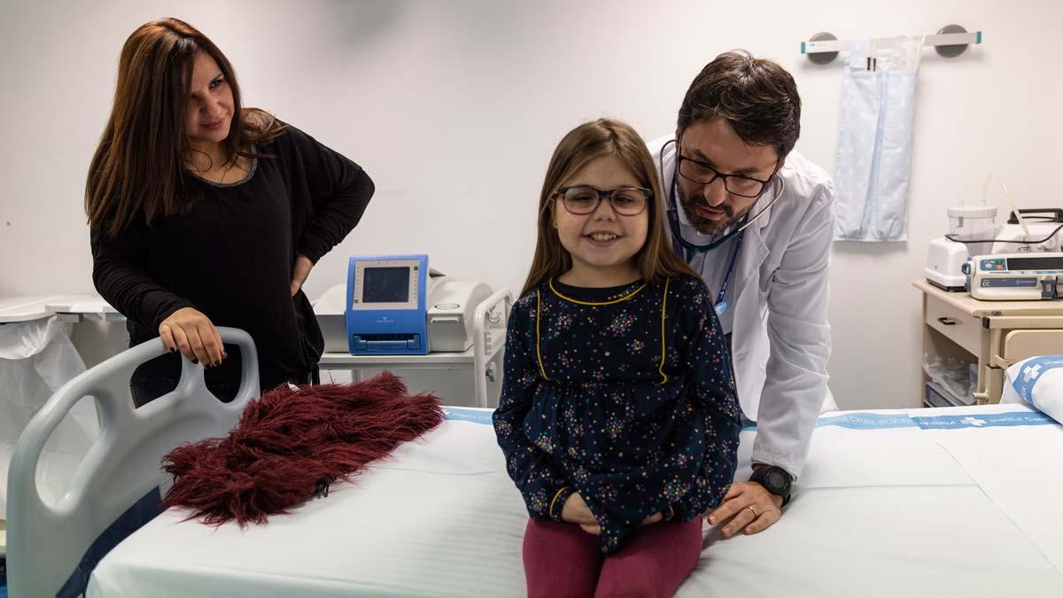 Una niña de 10 años, primera persona triple trasplantada en España