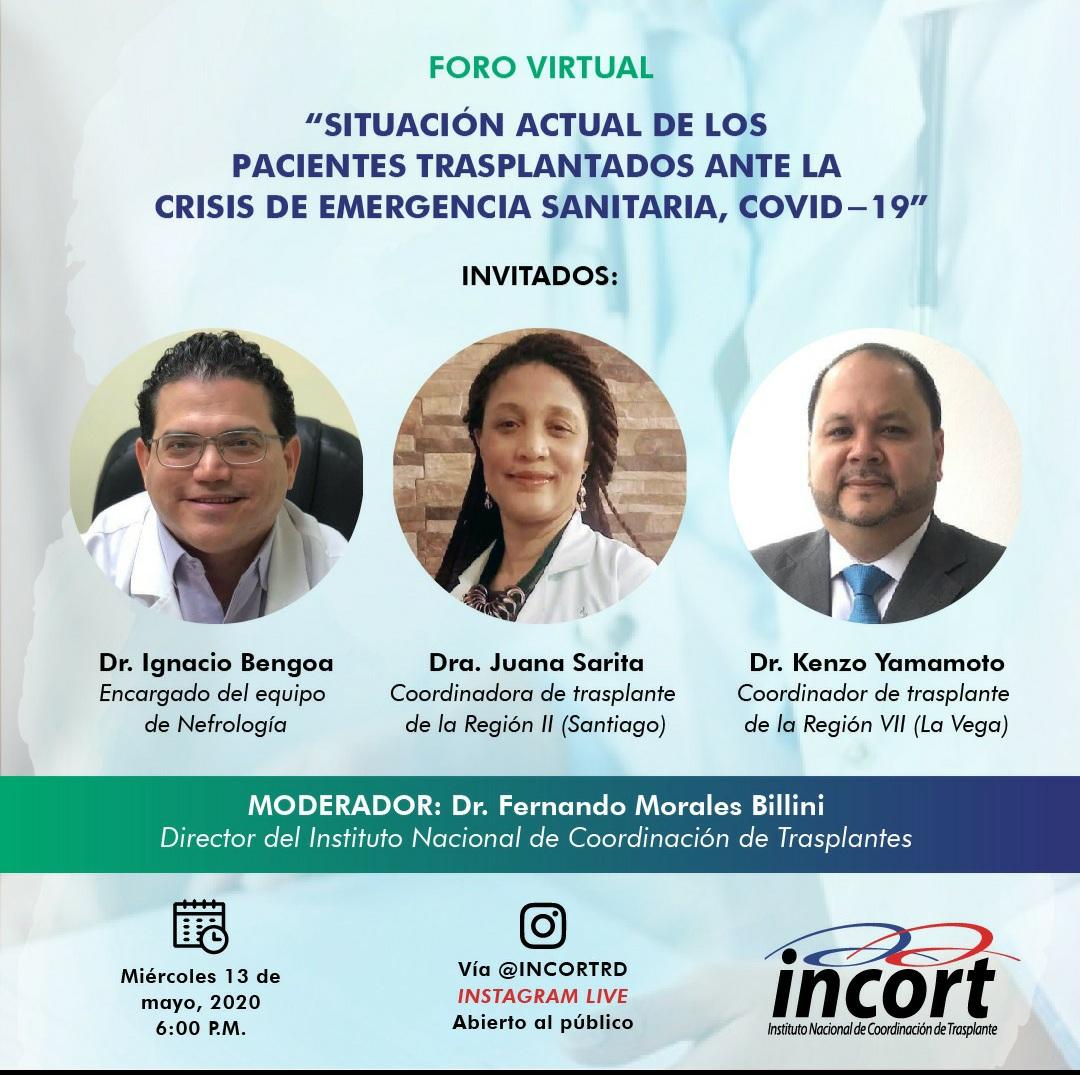 Situación actual de pacientes trasplantados ante crisis de emergencia COVID-19