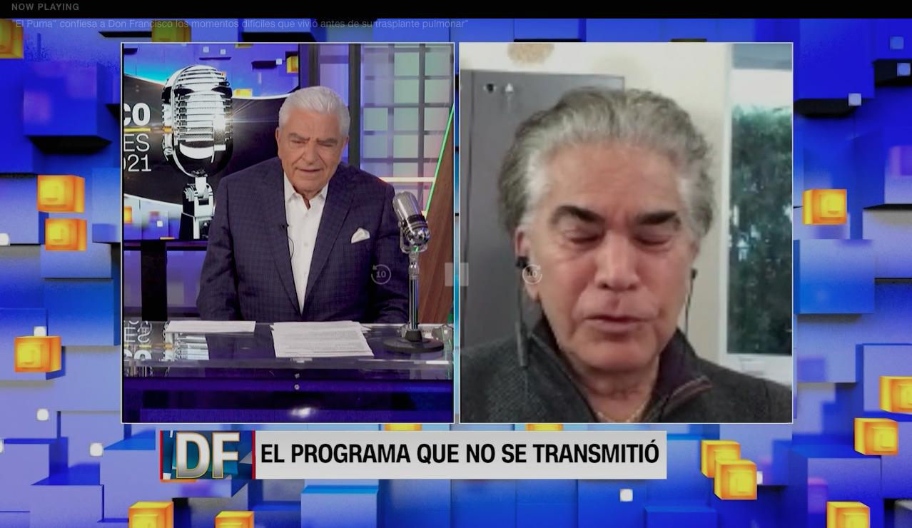 Las reflexiones de «El Puma» Rodríguez en entrevista con Don Francisco: «Dios me dio otra oportunidad»