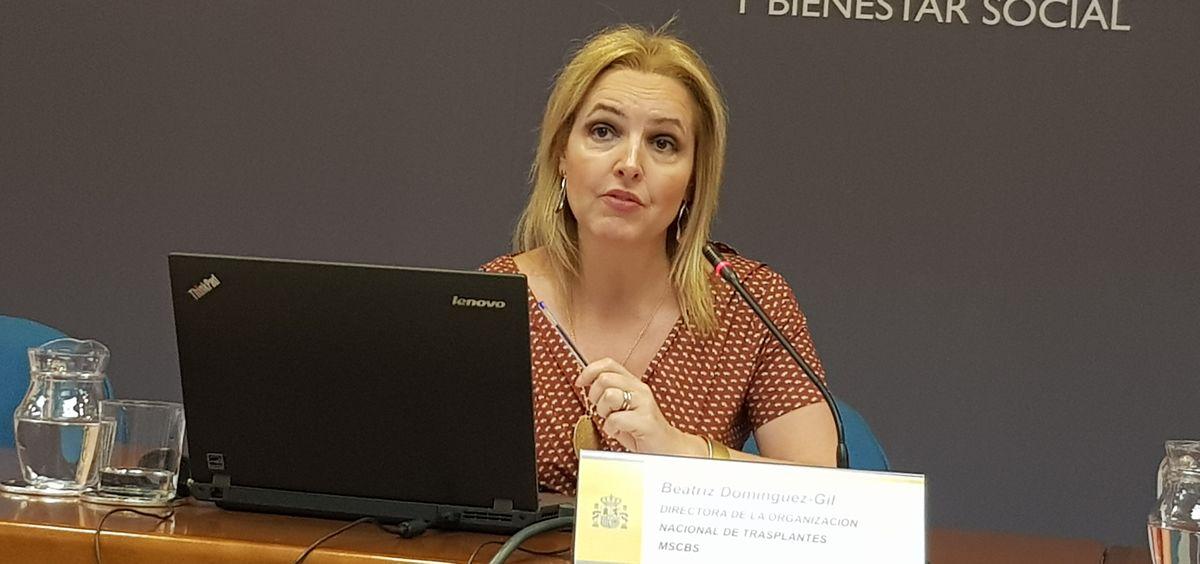 Beatriz Domínguez-Gil: Cuarto trasplante cruzado internacional