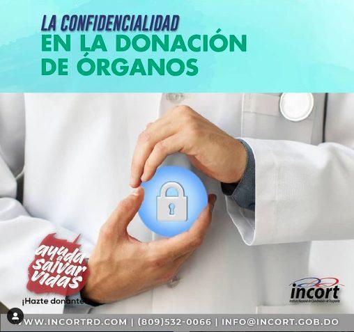 La confidencialidad en la donación de órganos
