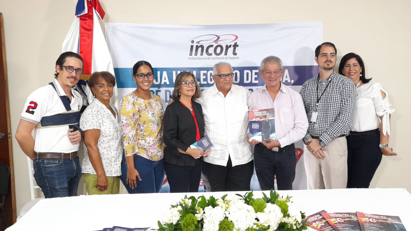 """INCORT celebra el 10mo. aniversario de la Revista """"Donación y Trasplante"""" y pone a circular la """"Guía para mantenimiento del Donante"""""""